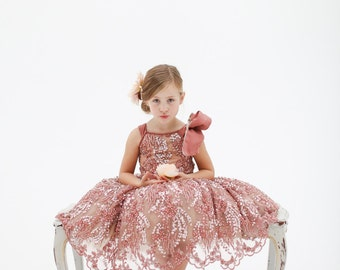 The Katy Flower Girl Dress (more colors available)