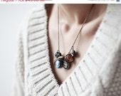 Statement necklace - Solar System necklace - Space jewelry (BN022) - BeautySpot