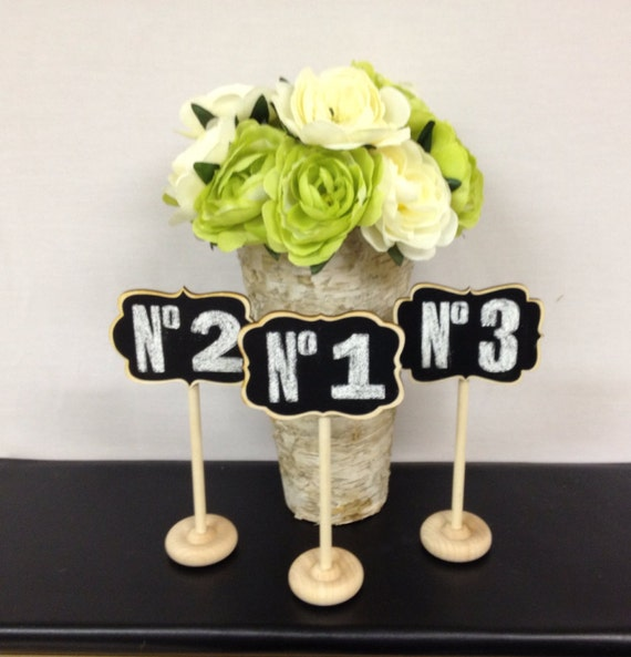 Wedding Reception Buffet Style: Items Similar To 6 Mini Chalkboard Table Stands Chalkboard