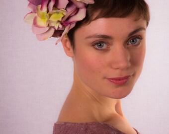 Hydrangea flower headpiece