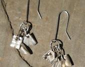 PMC Precious Metal Clay Earrings