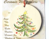 CHRISTMAS TREE ORNAMENT plus free gift wrap, original, 100% handmade