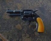 ONE Toy Gun Colt 45 Western Cowboy Peacemaker Pistol Charm Gun Pendant