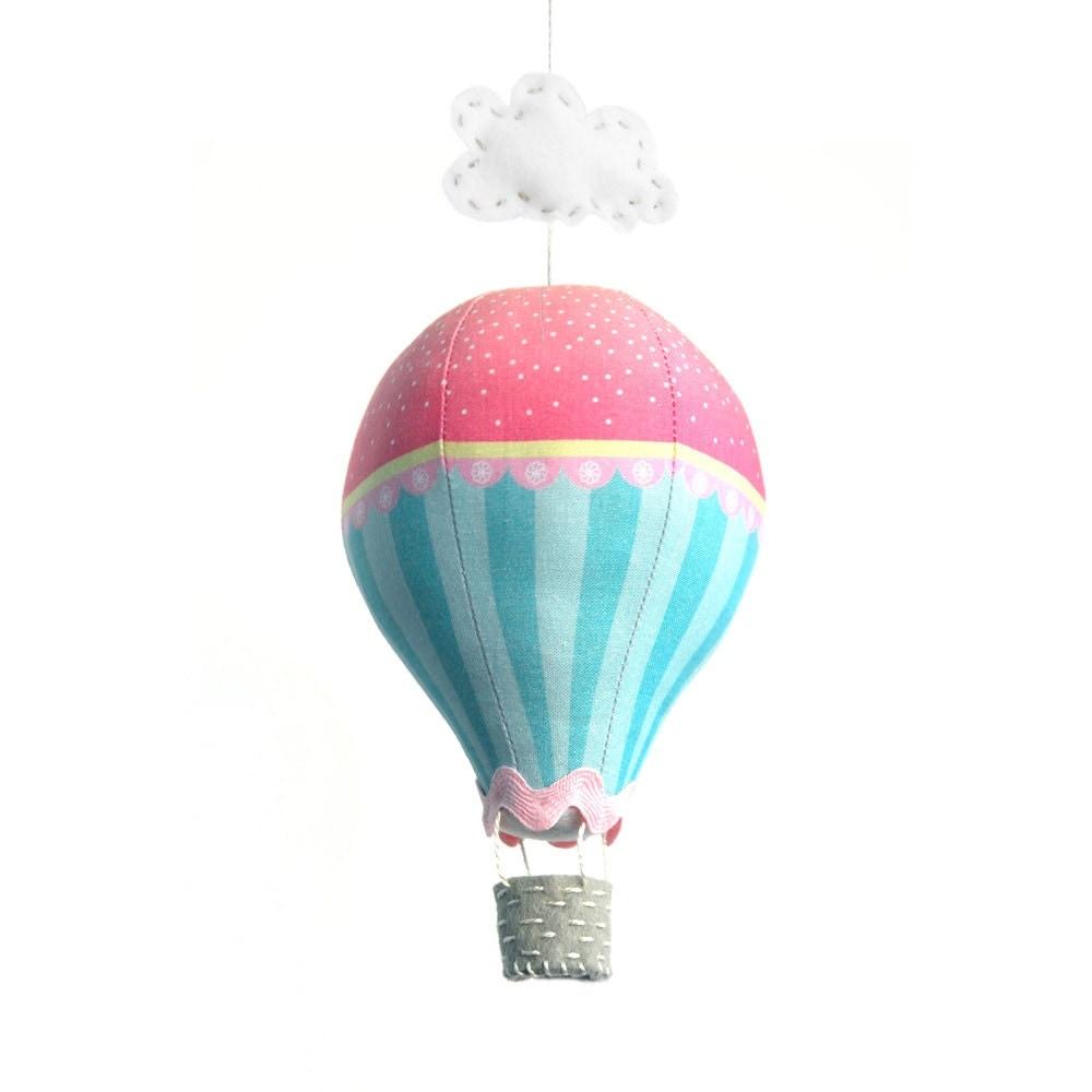 Hot Air Balloon Kit Pink Sugar by CraftSchmaft on Etsy