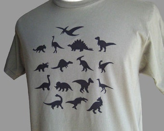 Dinosaur T Shirt Green Organic