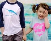 Light Blue Sisters Are Magic Unicorn Shirt 3-6M - 6T