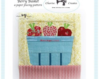 Berry Basket,  a Paper Piecing Pattern
