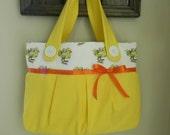 Chocobo and Moogle Handbag/ Diaper Bag/ Purse/ Tote/ Beach Bag/Book Bag