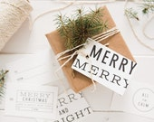 Hoilday Cheer Gift Tags (assorted 10 pack)