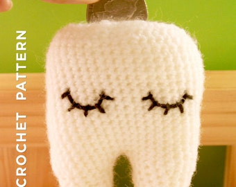 Sweet Tooth – Handmade Tooth Fairy Pillow PDF PATTERN