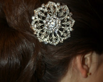 Bridal Hair Comb Wedding Hair Comb- Wedding Hair Accessories-Rhinestone Bridal Comb-Crystal Wedding Comb-Bridal Headpiece