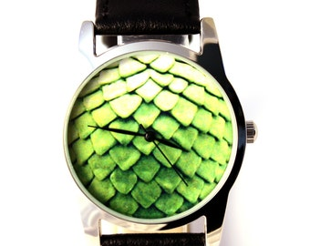 Watch Dragon egg, Game of Thrones inspired watch, green dragon egg