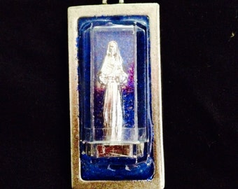 Mary (in a clear box) Necklace