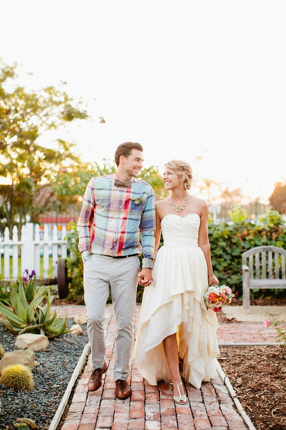 1 High Lo Chill Wedding Dress From The Peppermint Pretty