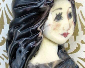 Lampwork Lady Bead - Catherine