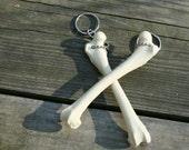 femur bone keychain