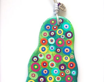Colorful Foot Ornament