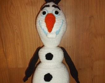 Amigurumi Olaf Tutorial : OLAF the FROZEN Snowman amigurumi Crochet pattern PDF