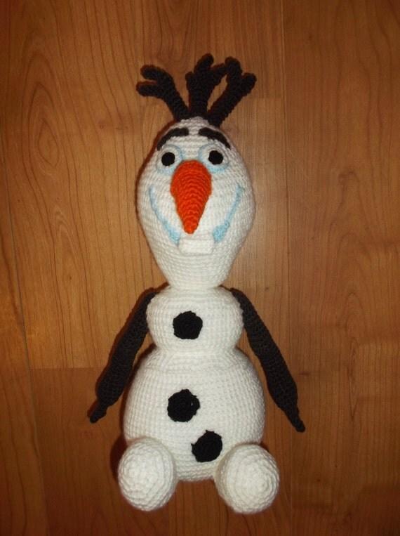 OLAF the FROZEN Snowman amigurumi Crochet pattern PDF