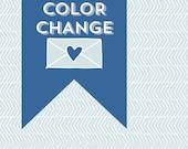 Printable Color Change - Add On