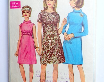 Vintage Sewing Pattern Simplicity 5997 By Momandpopcultureshop