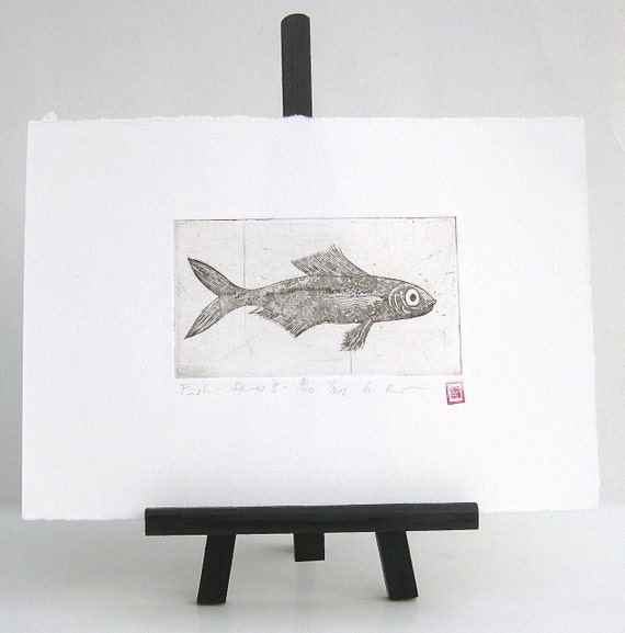 Fish - Original Etching