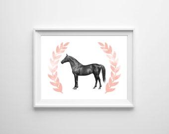 Laureate Horse Downloadable Print