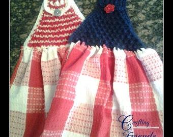 Crochet Pattern: Bubble Towel Top, Kitchen