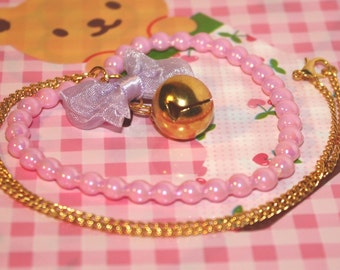 Magical Heart - Pretty Pink Kawaii Heart Pendant - Choice of Two Designs !!