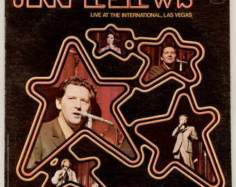 Jerry Lee Lewis Live at the International Las Vegas Singing Country Songs with his Sister Linda Gail, Vintage Vinyl Record Album, Mercury LP