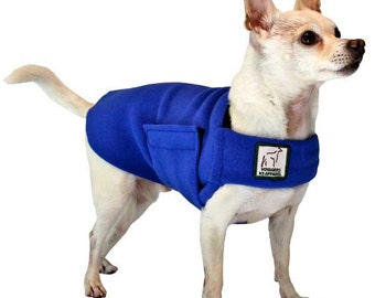 CHIHUAHUA Tummy Warmer, Dog Sweater, Fleece Dog Coat, Fleece Jacket, Coats for Dogs, Small Dog Sweater, Shirts for Dogs, Dog Vest, Dog Shirt