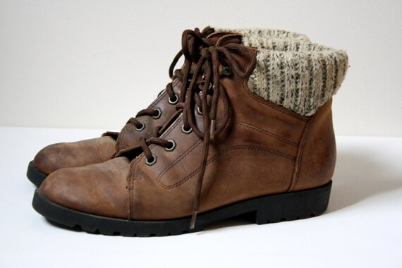 Fantastic Timberland Euro Hiker Womens Hiking Boots Brown Green Leather Lace Up 95310 T3 | EBay