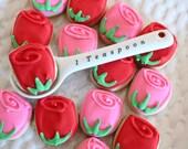 5 Dozen Roses Mini Vanilla Sugar Cookies