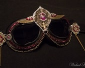 Goggles ~ Pink Steampunk - MADE TO ORDER