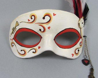The White Rabbit Masquerade Mask