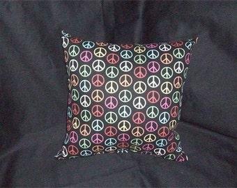 16X16 Peace Symbol Pillow