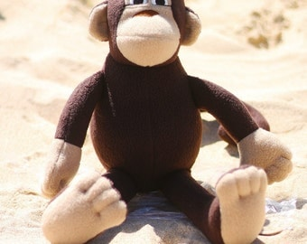 Personalize Your Own Custom Monkey Plush