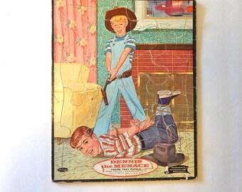 Dennis the Menace Whitman Puzzle 1960