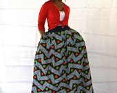 African Inspired Maxi Skirt