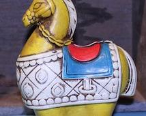 Norleans Japan Horse Napkin Holder, Vintage Horse Napkin Holder