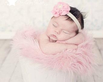 Infant headband, PICK COLOR, baby headband, Baby elastic headband, newborn headband, baby girl headband, elastic headband, infant girl, prop