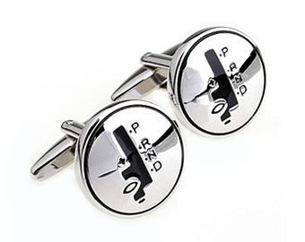 Shifter Cufflinks - Groomsmen Gift - Men's Jewelry - Gift Box Included