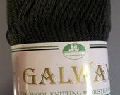 Plymouth Galway Yarn Moss Green - 9.5 balls