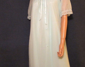 Vintage Lorraine Nylon Peignoir Set M-XL