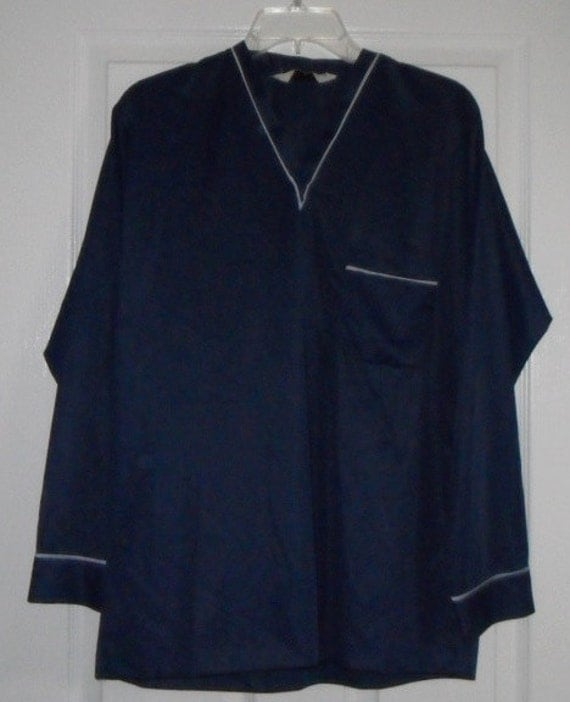 Vintage Pajamas Men S Nylon Munsingwear Lounge Set