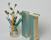 Vintage Smart Hand Cut Book Letters & Numbers