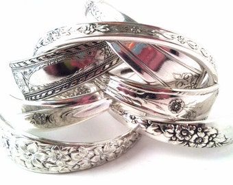 WHOLESALE LOT of 12 Spoon CUFF Bracelets