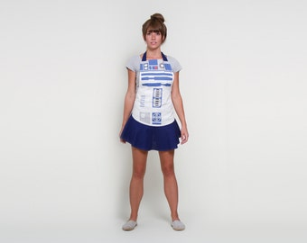 R2D2 - Star Wars - Women's Hostess Apron