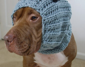 Dog Snood Grey Wolf  MADE TO ORDER