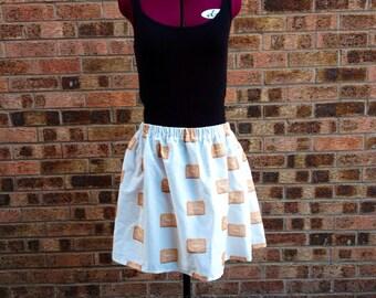 Custard Cream Skirt